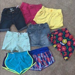 Other - Lot of 5/5t shorts, skirt, skort